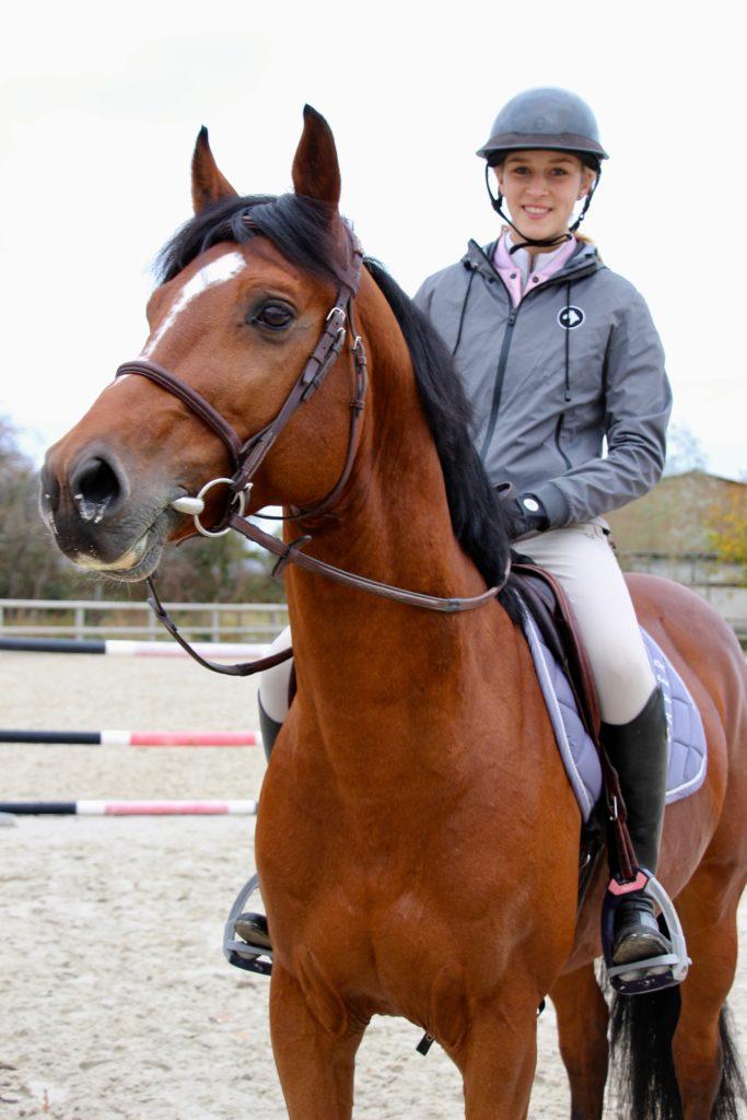 Ilona Mezzadri, championne de CSO